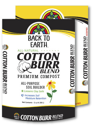 Back to Earth - Cotton Burr Compost